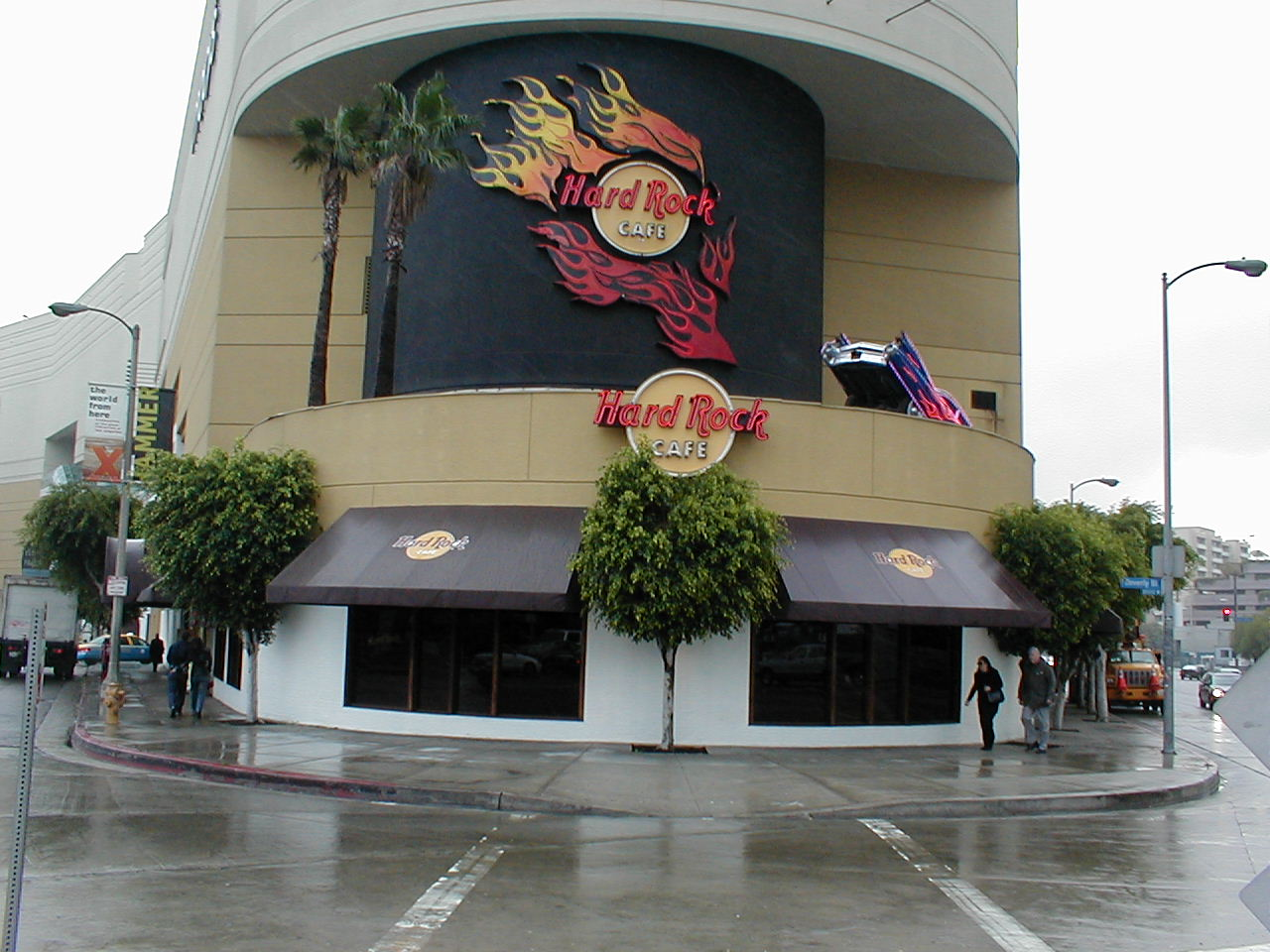 A PHOTO BEVERLY HILLS HARD ROCK CAFE USA