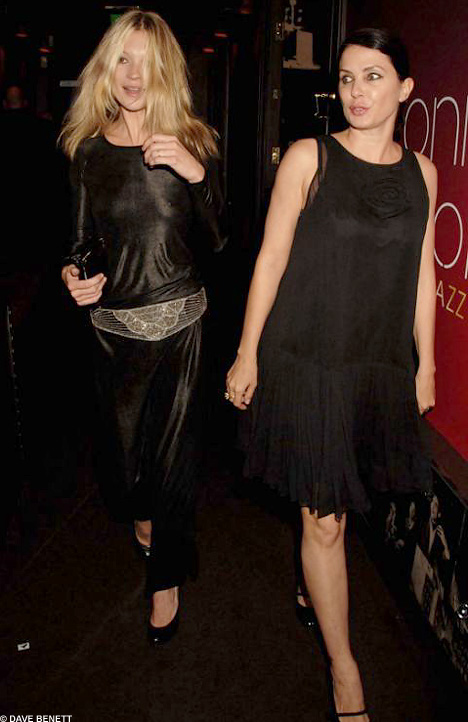 A PHOTO OF SADIE FROST AND KATE MOSS
