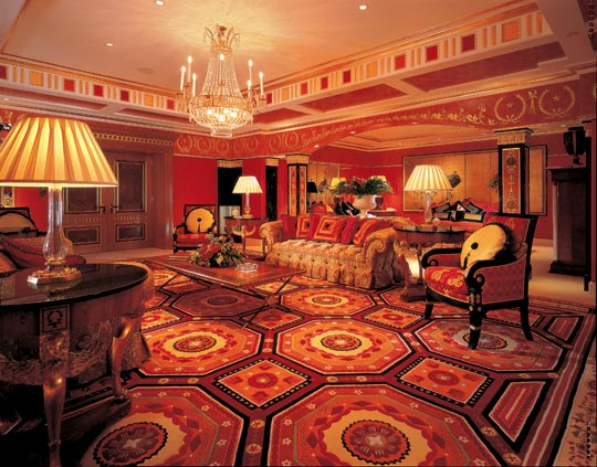 BURJ AL ARAB HOTEL DUBAI ROYAL SUITE IN DUBAI THE WORLDS MOST EXPENSIVE SITTING ROOM