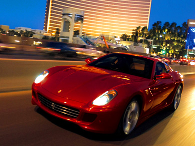 FERRARI RENTAL FERRARI HIRE LAS VEGAS NEVADA USA 1