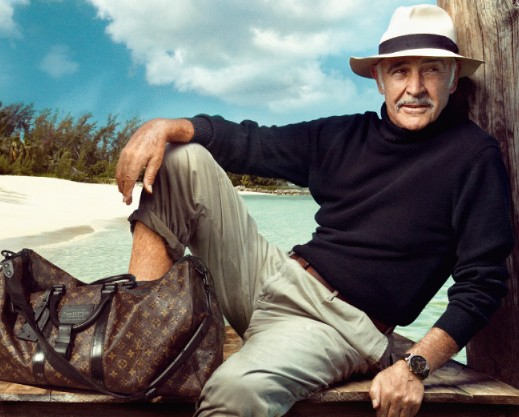 LUXURY LIFESTYLE ESSENTIALS LOUIS VUITTON SEAN CONNERY LUXURIOUS TRAVEL LUGAGE