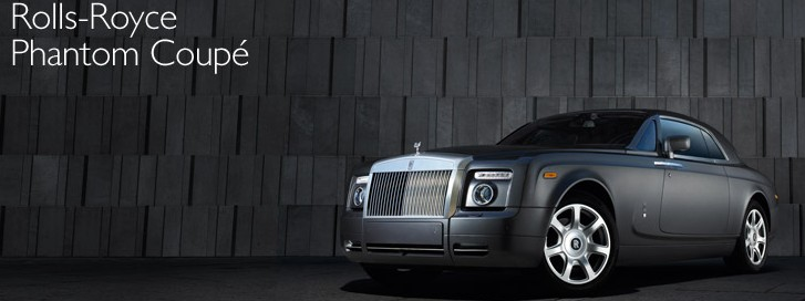 LUXURY LIFESTYLE ESSENTIALS ROLLS ROYCE MOTOR CARS PHANTOM COUPE vip