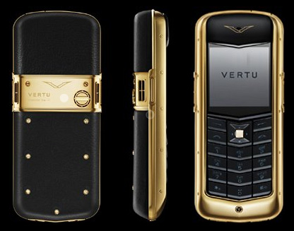 LUXURY LIFESTYLE ESSENTIALS VERTU MOBILE PHONE