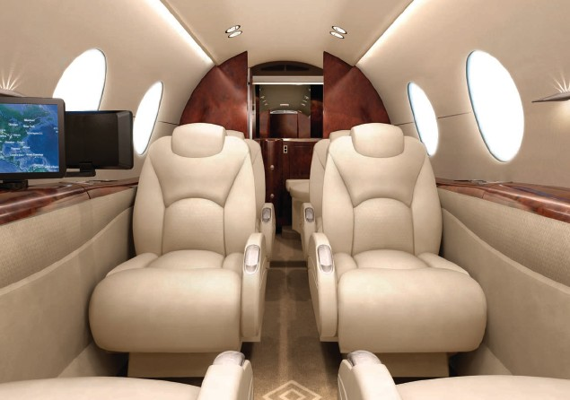 PRIVATE JET SALES HAWKER 450P CABIN LUXURY VIP TRAVEL